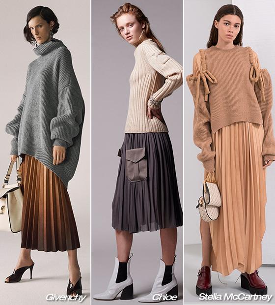 Givenchy, Chloe, Stella McCartney 2019 Pre-fall 컬렉션/사진=각 브랜드