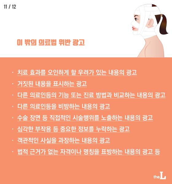 """[카드뉴스] 의료광고 급증 """"과장광고 넘쳐"""""""