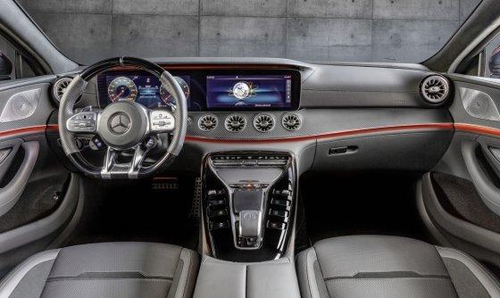 더 뉴 메르세데스-AMG GT 43 4MATIC+ 4-도어 쿠페 내부./사진제공=벤츠코리아