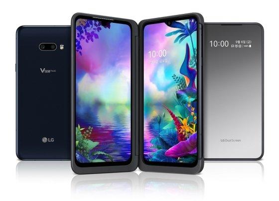 LG V50S 씽큐와 듀얼 스크린. /사진=LG전자