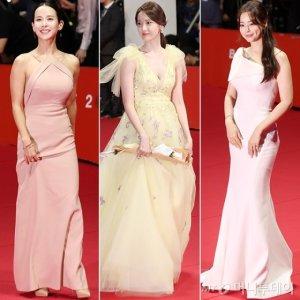 플라워 패턴 윤아·머메이드 이하늬…'시선강탈' 드레스는?