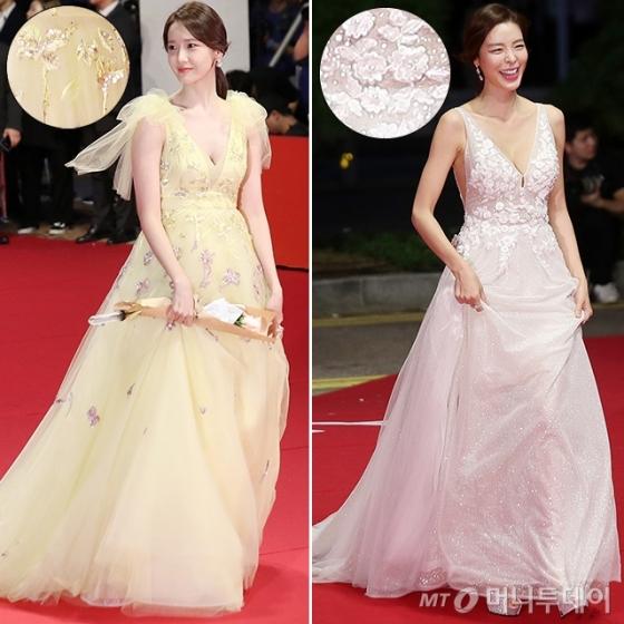 배우 임윤아, 김규리/사진=김휘선 기자