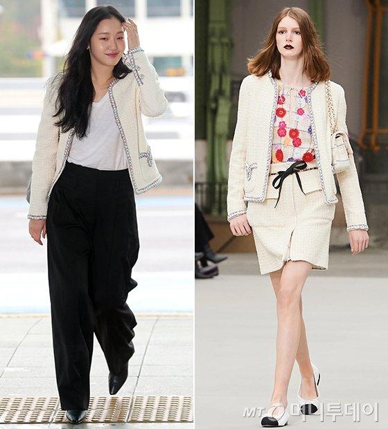배우 김고은, 샤넬 2020 리조트 컬렉션/사진=임성균 기자, 샤넬
