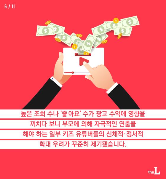 [카드뉴스] 키즈 유튜브, 개인 광고 금지령