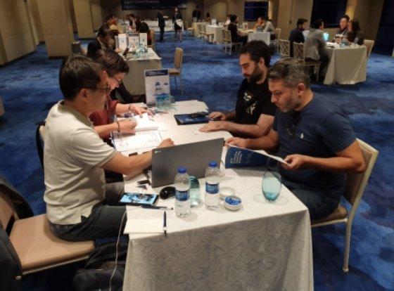 '터키 디지털콘텐츠 로드쇼'에서 비즈니스 매칭 현장 /사진=MOIBA