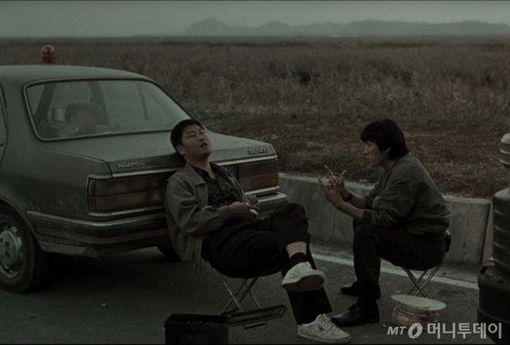 영화 '살인의 추억'에 등장한 대우자동차 '맵시-나' /사진=영화 캡쳐