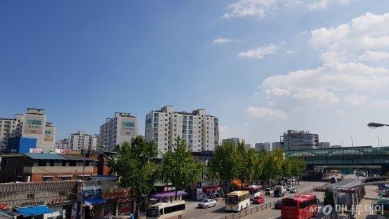 수원역 인근 모습/사진= 박미주 기자