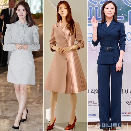 그룹 소녀시대 윤아, 배우 정인선, 이세영 /사진=머니투데이 DB, 미센스 제공