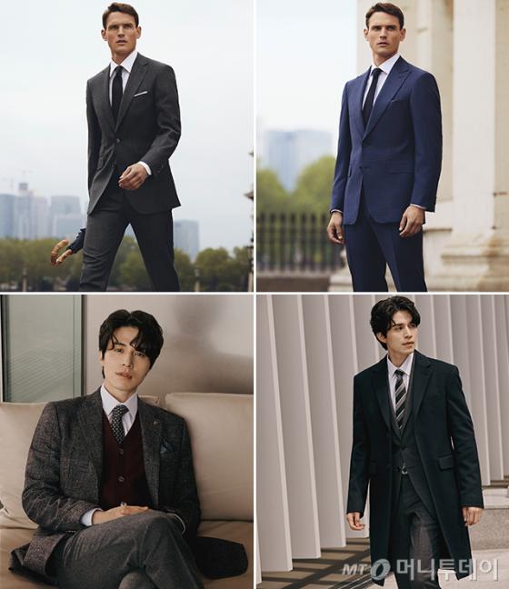 (아래)배우 이동욱 /사진제공=스카발, 브루노바피