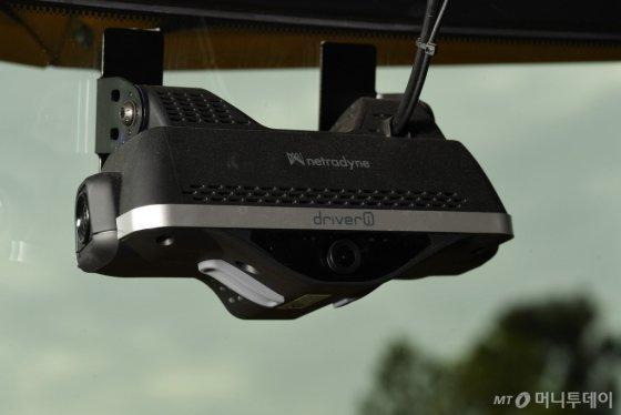네트라다인의 AI 기반 카메라 드라이버아이. /사진제공=현대차 미국법인