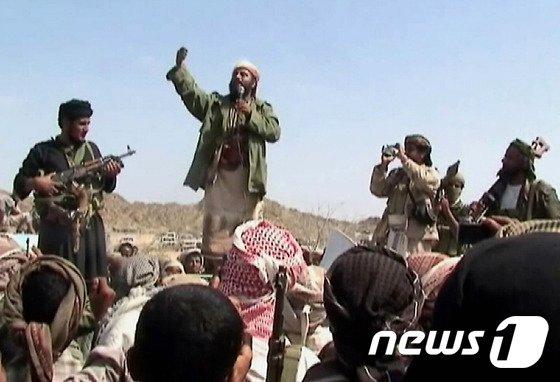 알카에다 대원들. © AFP=뉴스1