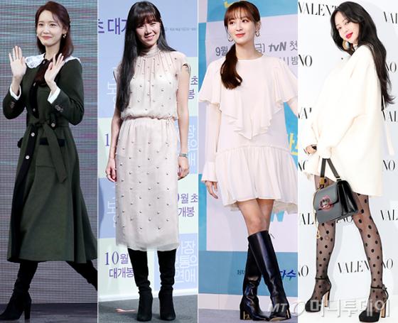 배우 임윤아, 공효진, 정혜성, 한예슬/사진=뉴스1, 머니투데이 DB