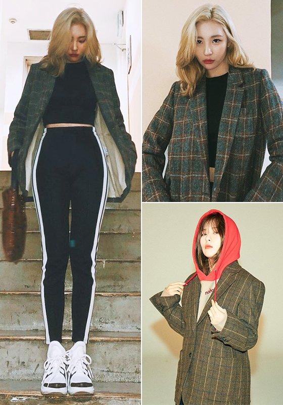 가수 선미, 그룹 레드벨벳 슬기/사진=각 스타 인스타그램