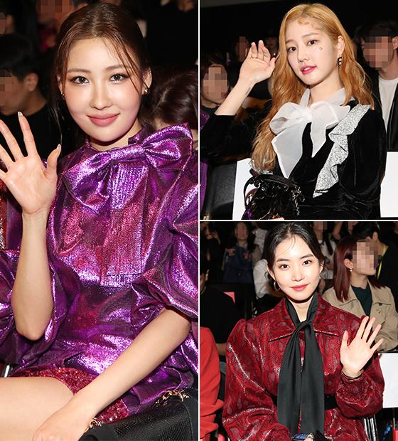 뷰티 크리에이터 이사배, 배우 이유비, 황승언/사진=뉴스1/사진=뉴스1