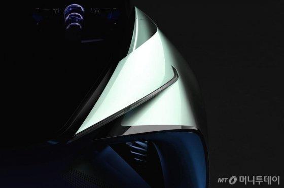 도쿄모터쇼에서 공개될 렉서스 전기 콘셉트카 티저. /사진=렉서스 홈페이지