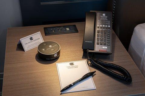 메리어트 호텔의 에코 스피커 /사진=amazon