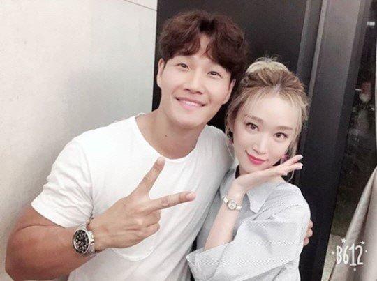 왼쪽부터 가수 김종국과 가수 소야./사진=소야 인스타그램 캡처