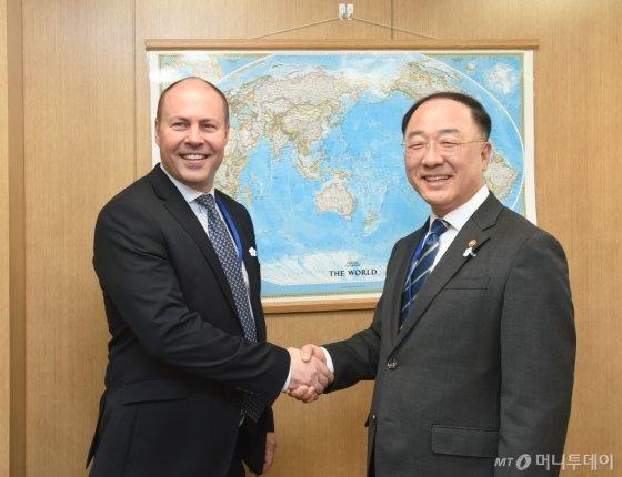韓·호주, 수소경제 협력 합의…통화스왑 연장 시사 - 머니투데이 뉴스