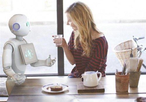 일본 소트프뱅크의 서비스 로봇 '페퍼'/사진=소프트뱅크