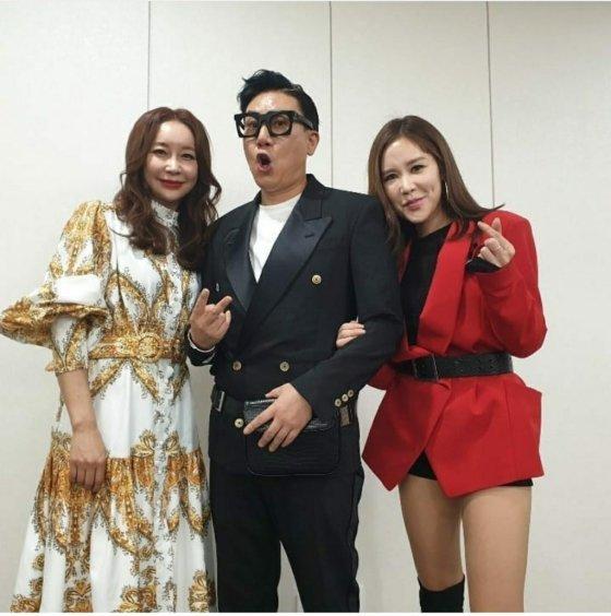 그룹 '룰라' 왼쪽부터 김지현, 이상민, 채리나 / 사진= 김지현 인스타그램 캡처본