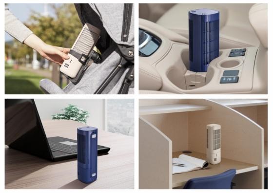 웅진코웨이, 휴대용 공기청정기 '에어보틀' 출시