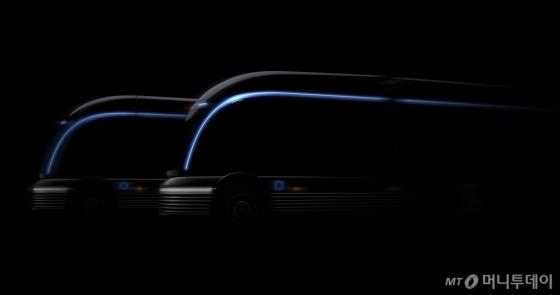 현대차, 수소전용 대형트럭 콘셉트 'HDC-6 넵튠' 티저 공개