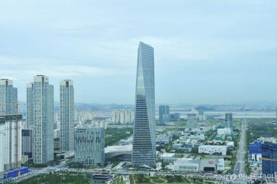 인천 송도국제도시 전경. /사진제공=포스코건설