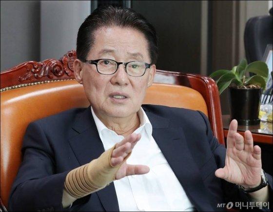 박지원 대안신당 의원/사진=김창현 기자