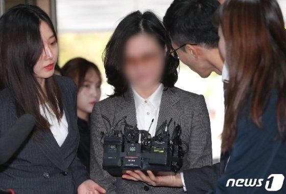 정경심 동양대 교수. 2019.10.24/뉴스1 © News1 허경 기자