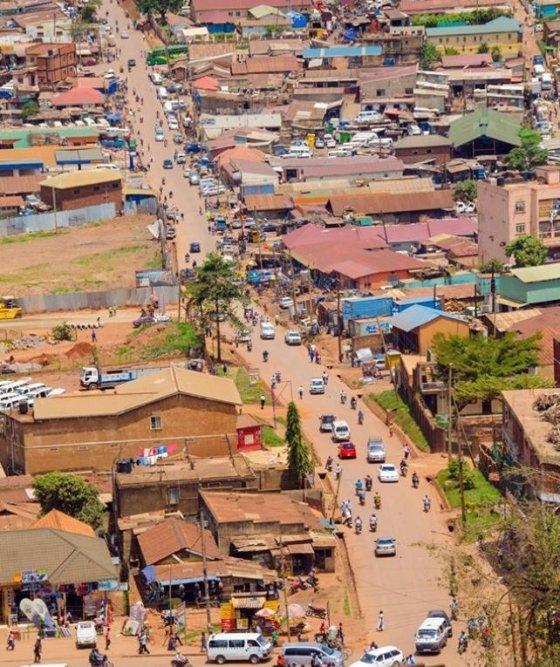 우간다 수도 캄팔라 전경 /사진=알자지라 방송 인스타그램