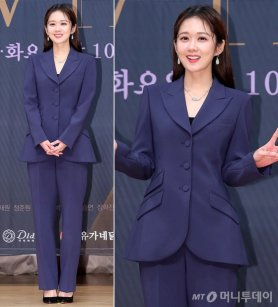 "'VIP' 장나라, 우아한 슈트 패션…""여전한 동안 미모"""