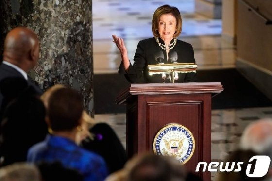 낸시 펠로시 미국 하원의장.@ AFP=뉴스1