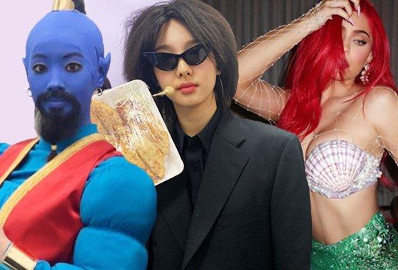 그룹 트와이스 다현, 나연, 모델 겸 사업가 카일리 제너/사진=트와이스, 카일리 제너 인스타그램