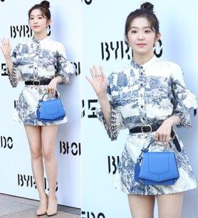 레드벨벳 아이린, 우아한 미니드레스…미모 '폭발'