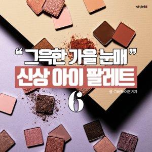 [카드뉴스] 가을 메이크업 필수템…신상 아이 팔레트 6