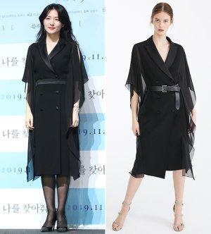이영애 vs 모델, 우아한 블랙 룩...