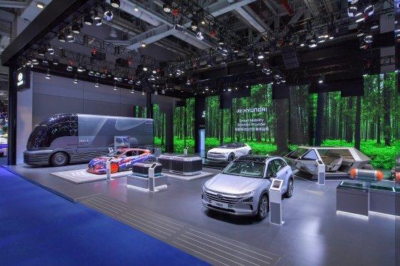 현대차, 제 2회 중국 국제 수입박람회 참가/사진제공=현대차