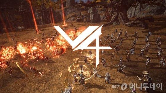 넥슨의 모바일 MMORPG 'V4'/사진=넥슨