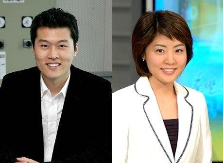 김일중(왼쪽), 윤재희 ytn 아나운서 /사진=스타뉴스