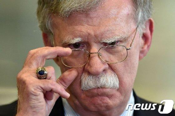 존 볼턴 전 백악관 국가안보보좌관. © AFP=뉴스1