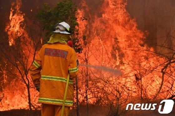 호주 산불. © AFP=뉴스1