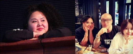 사진= 좌: 머니투데이 김창현 기자, 우: 홍선영 인스타그램 캡쳐본