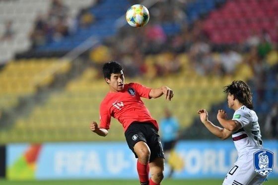 17세 이하(U-17) 한국 축구대표팀이 U-17 멕시코 축구대표팀과 월드컵 8강전을 벌이고 있다. /사진=대한축구협회