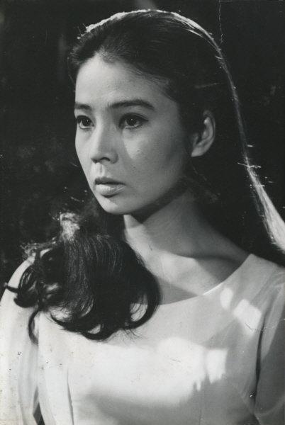 배우 윤정희, 영화 빗속에 떠날 사람에 출연할 당시 모습./사진=한국영상자료원