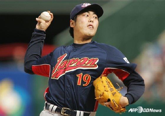 2006 월드베이스볼 클래식에 나섰던 우에하라. /AFPBBNews=뉴스1