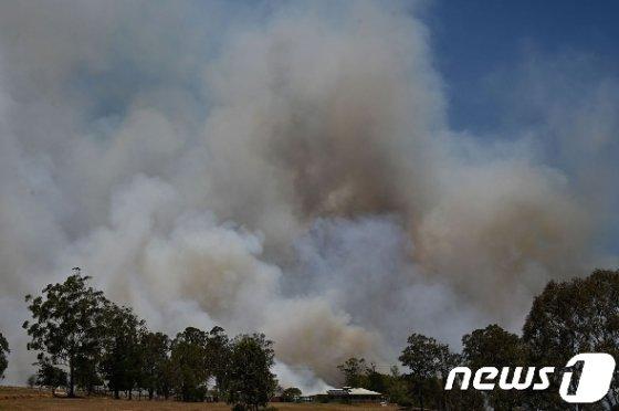 호주 화재. © AFP=뉴스1