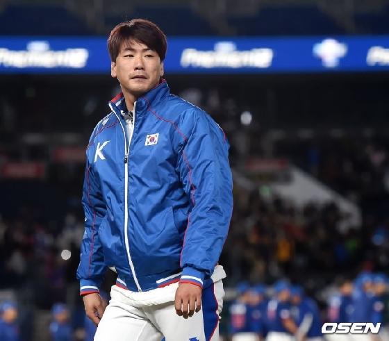 고개 가로저은 김광현
