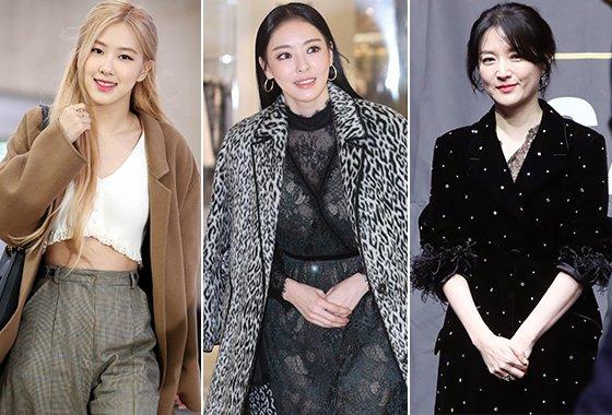 그룹 블랙핑크 로제, 배우 이다희, 이영애/사진=머니투데이 DB. 뉴스1, 뉴시스