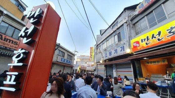 '힙지로'로 2030 밀레니얼 세대에게 각광받는 을지로 일대. /사진=김자아 기자