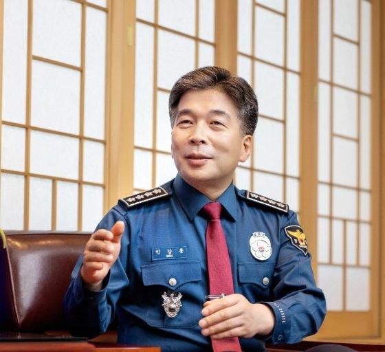 민갑룡 경찰청장./사진제공=경찰청
